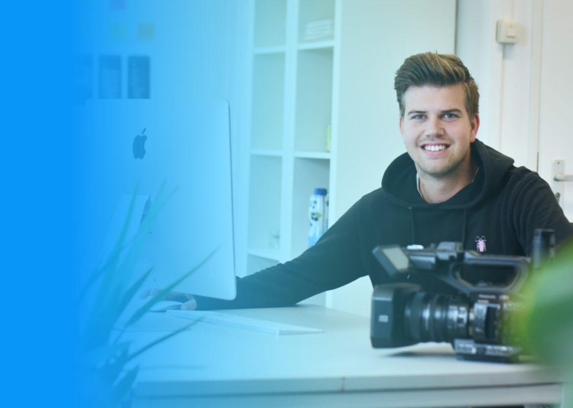 Mario Brunt van RV Webdiensten in Pijnacker-Nootdorp